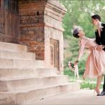Свадебное платье в стиле нью-лук