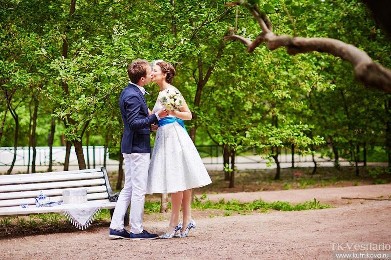 Свадебное платье в стиле 60-х
