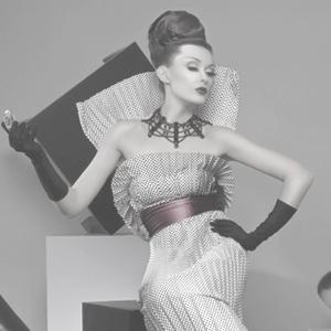 Шахматная Геометрия - черно-белые платья в стиле 50-х, new-look