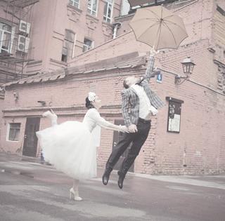 Свадебное платье в стиле new-look - балерина