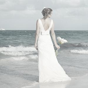 Кружевное свадебное платье, Доминиканская республика