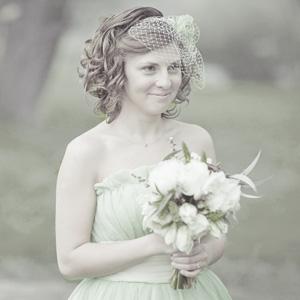 Зеленое свадебное платье в стиле 50-х new-look