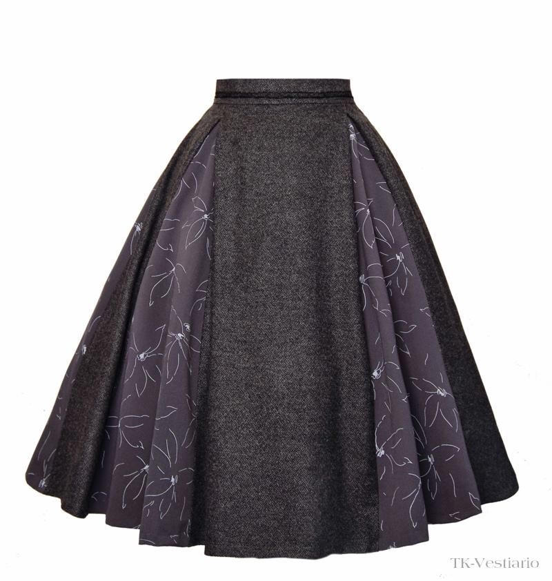 пышная юбка  TK-Vestiario