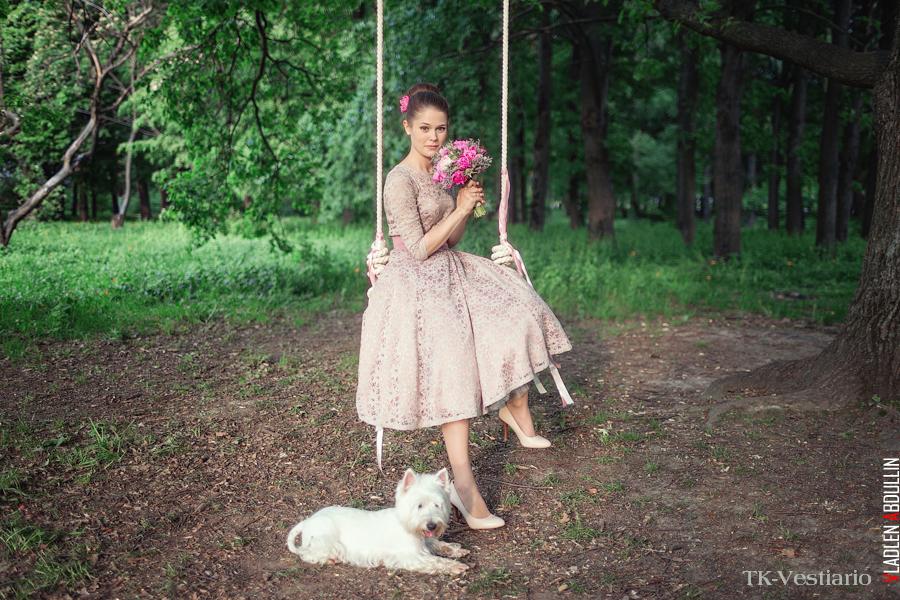 платье в стиле 50-х Таисия Кирцова TK-Vestiario