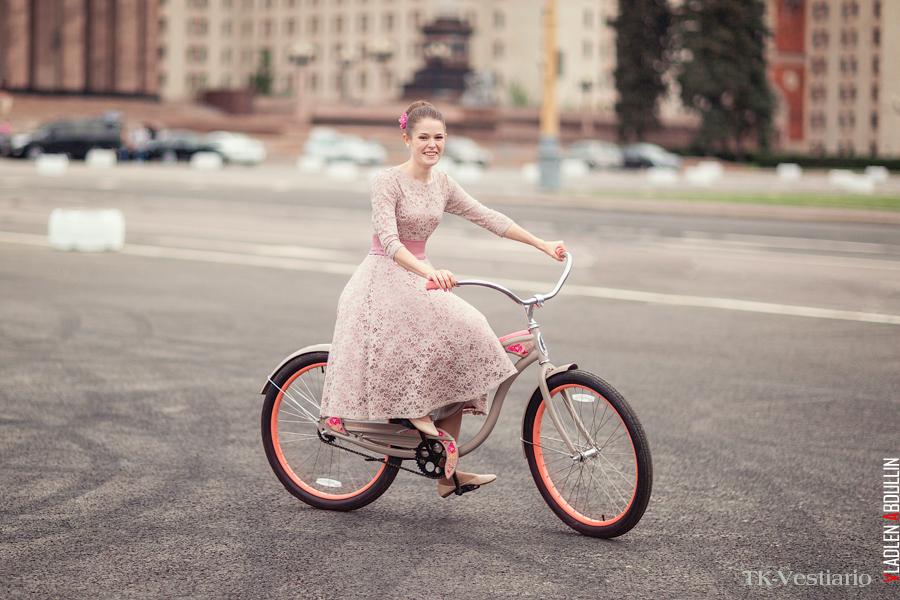 платье в стиле 60-х Таисия Кирцова