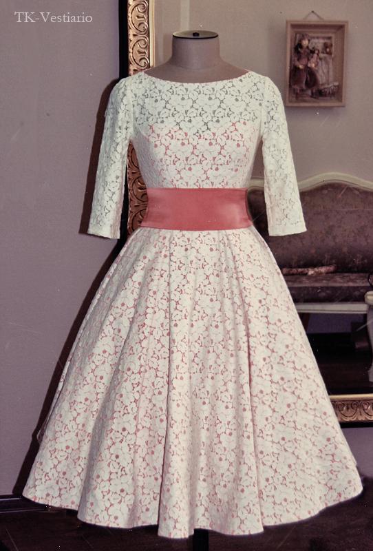 Свадебные платья в стиле 60-х