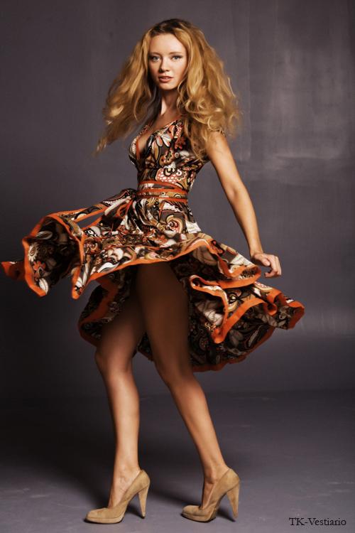 Платье в стиле 50-х TK-Vestiario