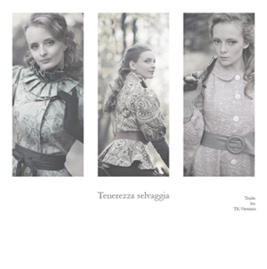 Tenerezza selvaggia - пальто в стиле 50-х, короткие пальто с баской.