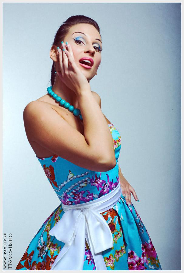 Платье стиляги TK-Vestiario