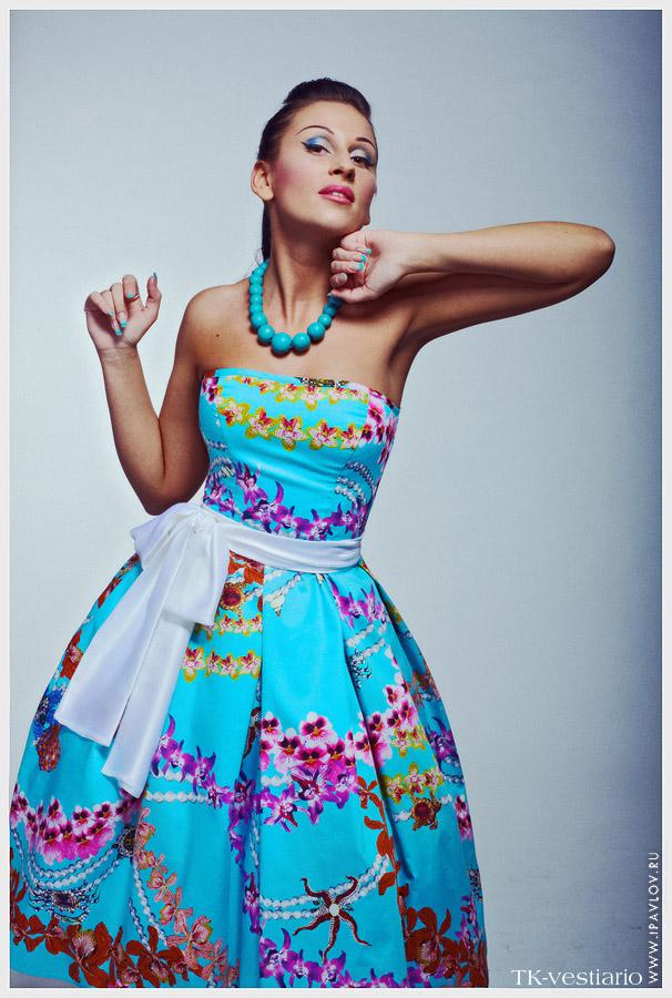 Платье стиляги Таисия Кирцова