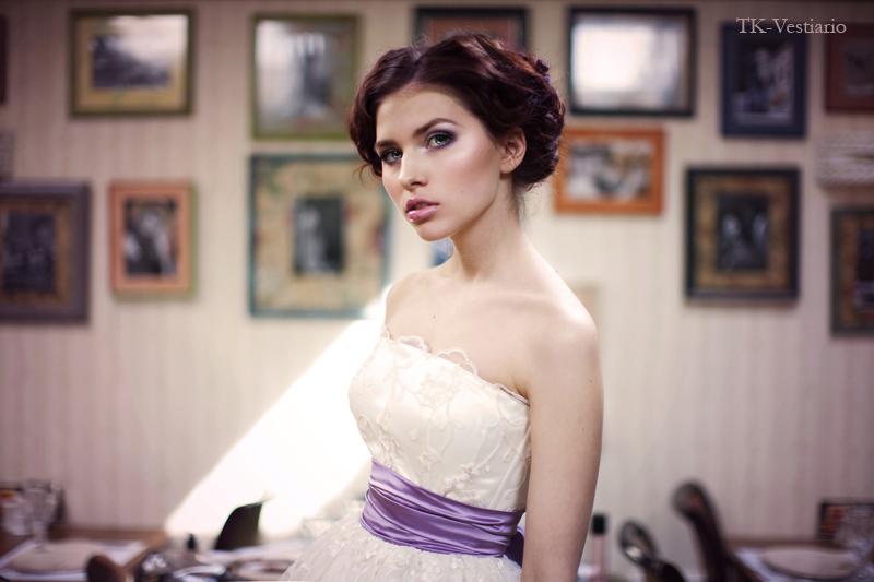 Wedding Saloon :: свадебное платье в стиле 60-х фото - Свадебные