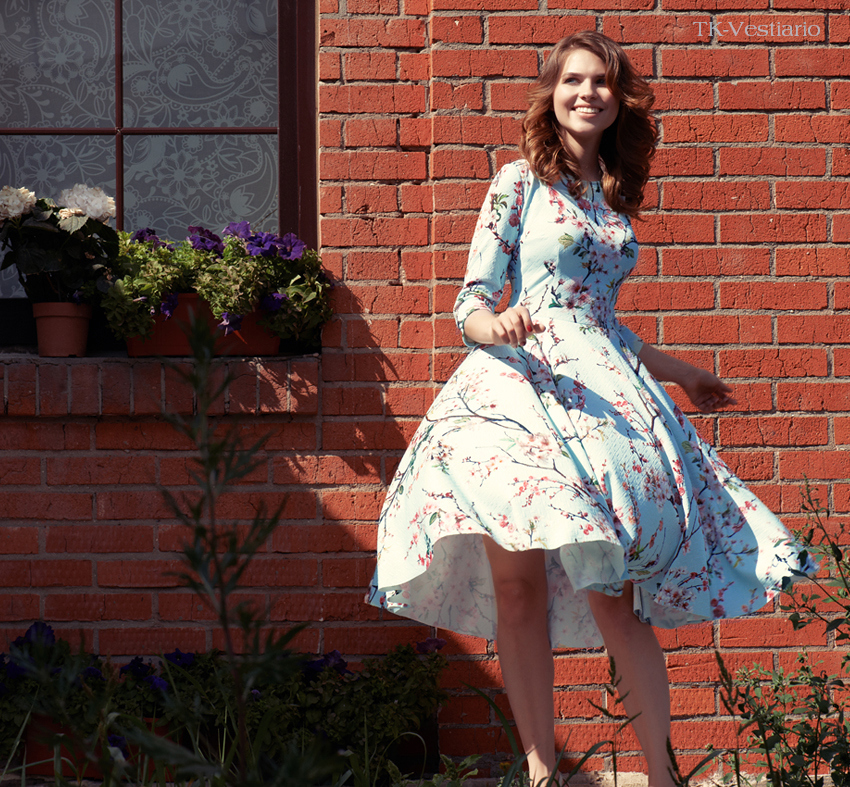 Тk-vestiario Платье с пышной юбкой