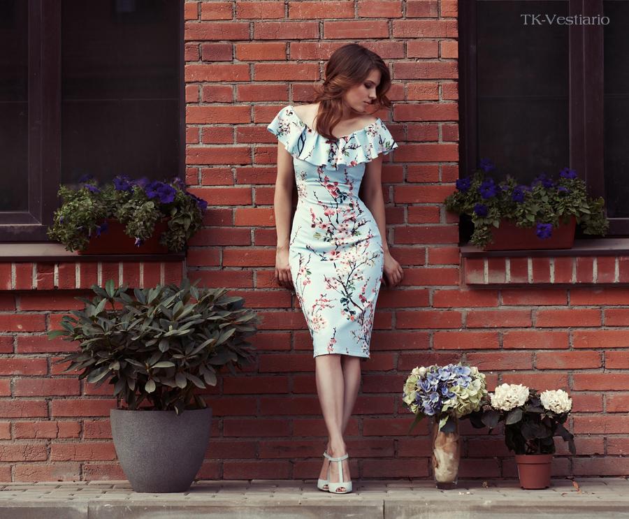 Таисия Кирцова Платье с цветами
