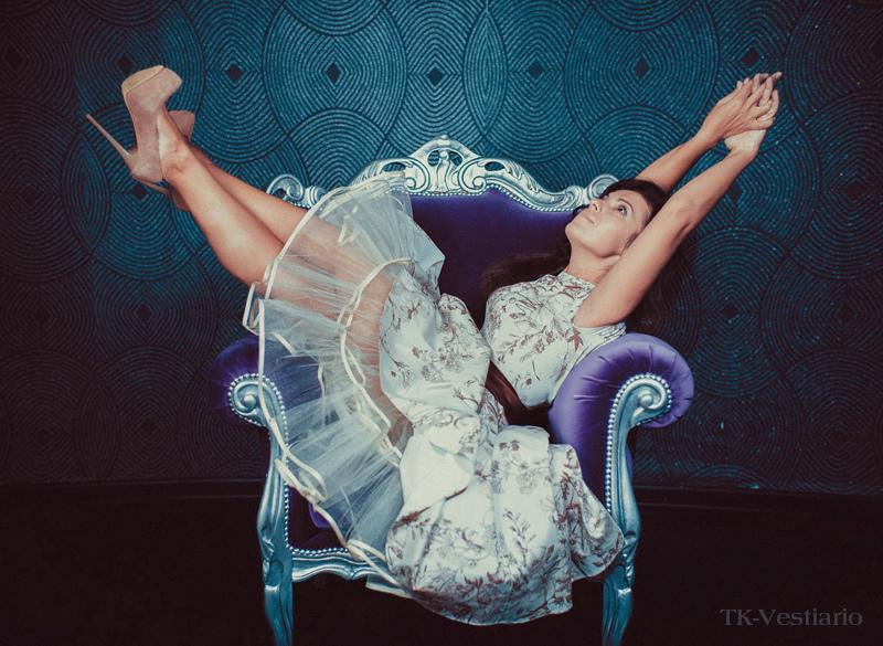 Платье с пышной юбкой TK-Vestiario