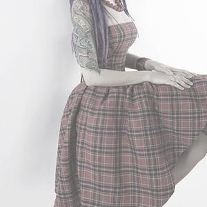 Пышные юбки в клетку в стиле 50-х