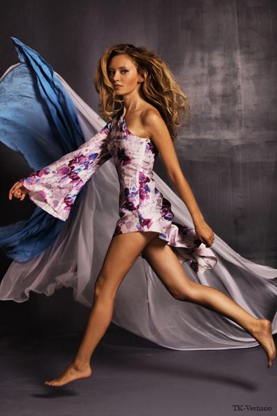 Платье в стиле 50-х Таисия Кирцова