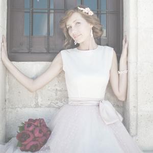 Свадебное платье в стиле 60-х, Кипр