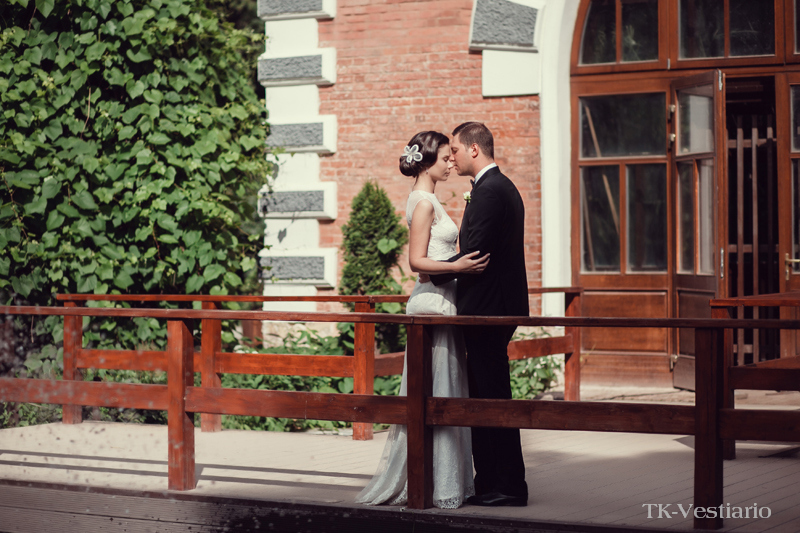 свадебное платье в пол